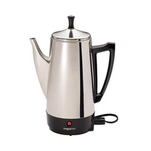 12 Cup Coffee Percolator SS - Kitchen Shop Deals