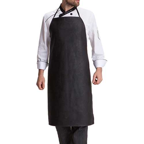 Restaurant Cooking  Leather Apron With Cuff Over sleeve  Aprons - Kitchen Shop Deals