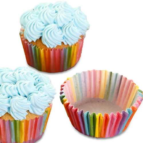 Honana Colorful Cupcake Paper Cake Liner Baking Muffin Box - Kitchen Shop Deals