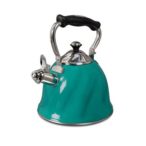 Mr Coffee Alberton  Tea Kettle with Lid in Emerald Green - Kitchen Shop Deals