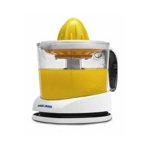 BD 34oz Citrus Juicer Wht - Kitchen Shop Deals