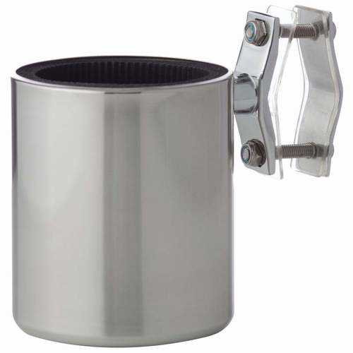 Universal Stainless Steel Motorcycle Cup Holder - Kitchen Shop Deals