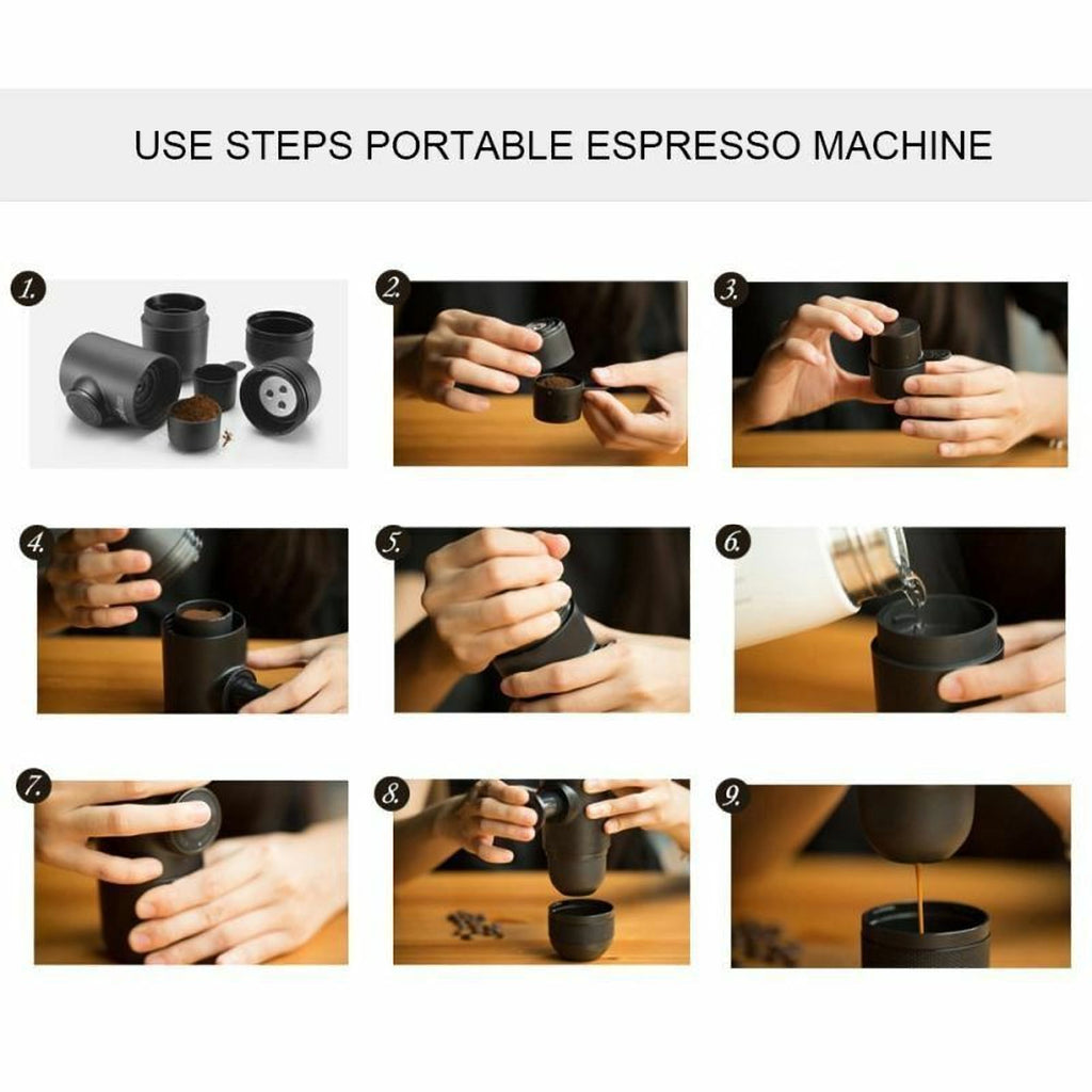 Portable Mini Coffee Maker - Kitchen Shop Deals
