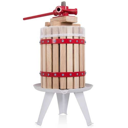 1.6 Gallon Fruit Wine Press Cider Juice Maker Tool - Kitchen Shop Deals