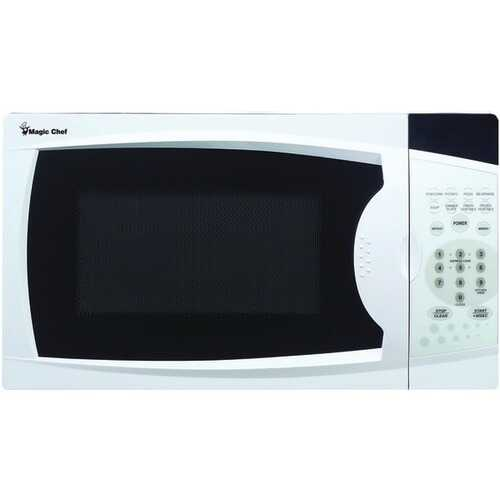 Magic Chef MCM770W .7 Cubic-ft, 700-Watt Microwave with Digital Touch (White) - Kitchen Shop Deals
