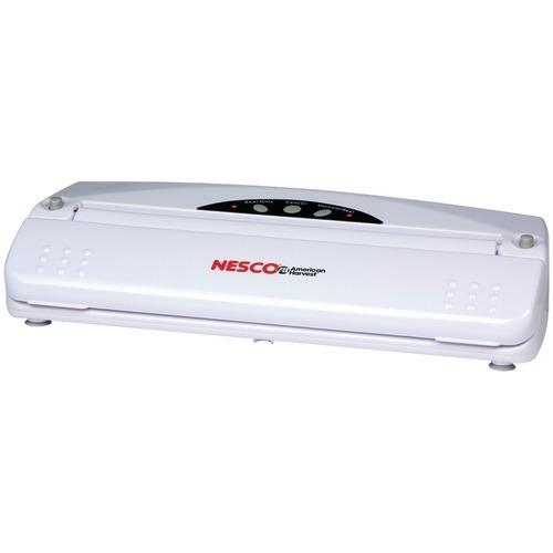 Nesco Vacuum Sealer (110-watt; White) (pack of 1 Ea) - Kitchen Shop Deals