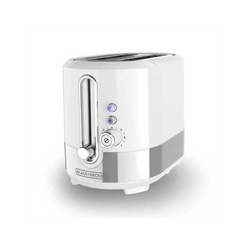 Bd 2-slice Toaster Ss Wht - Kitchen Shop Deals