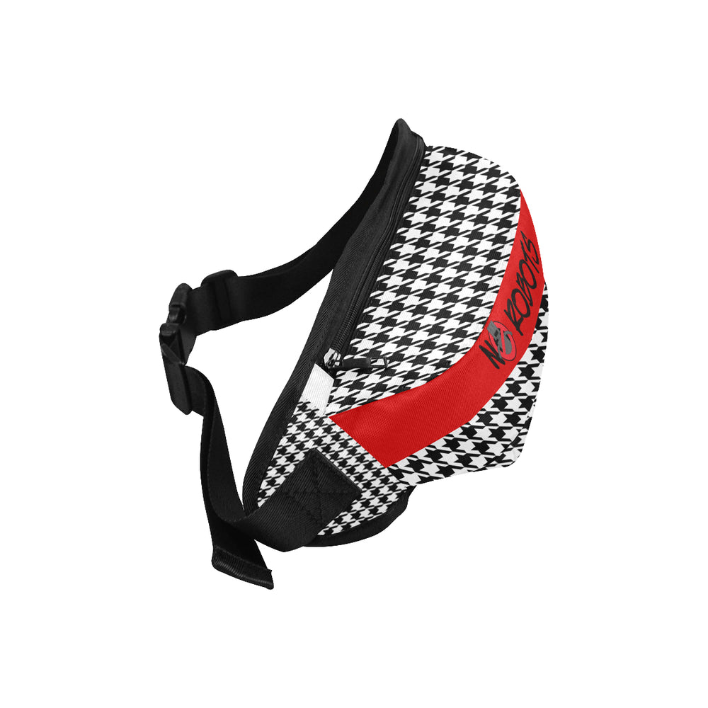 NR Houndstooth Waist Bag