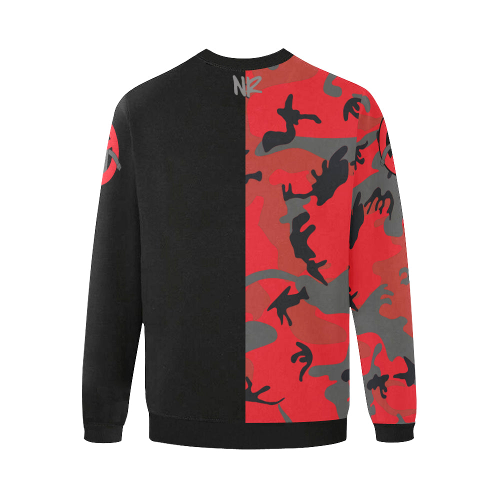 No Robots Camo Split Sweatshirt