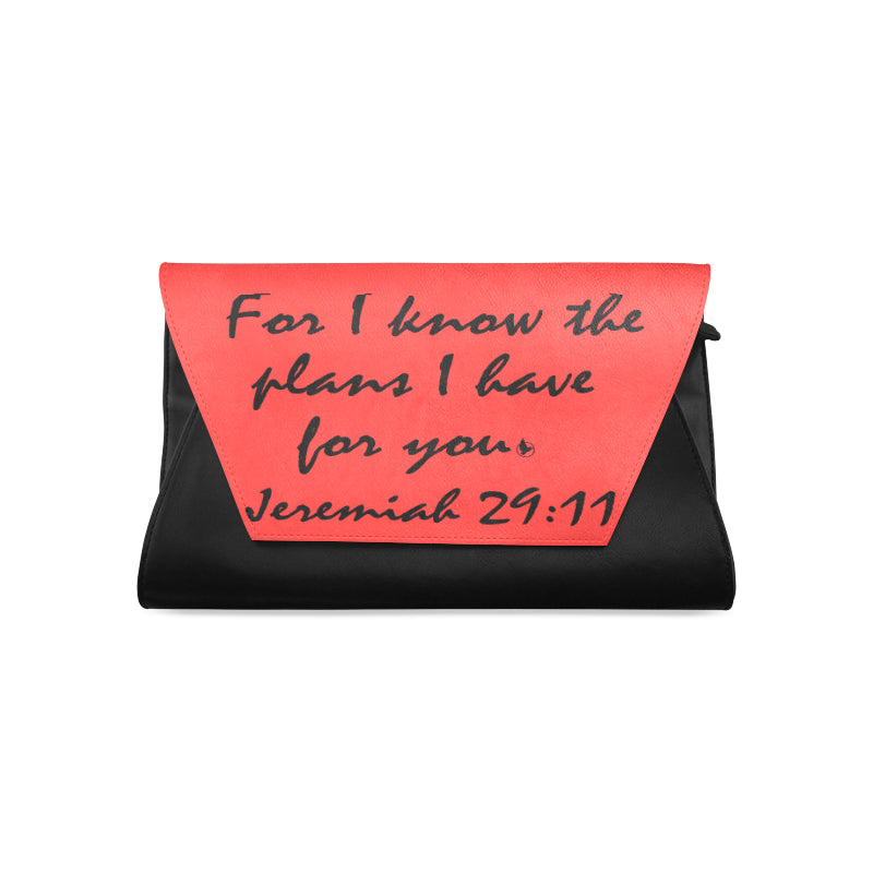 Jeremiah 29.11 black red clutch.jpg