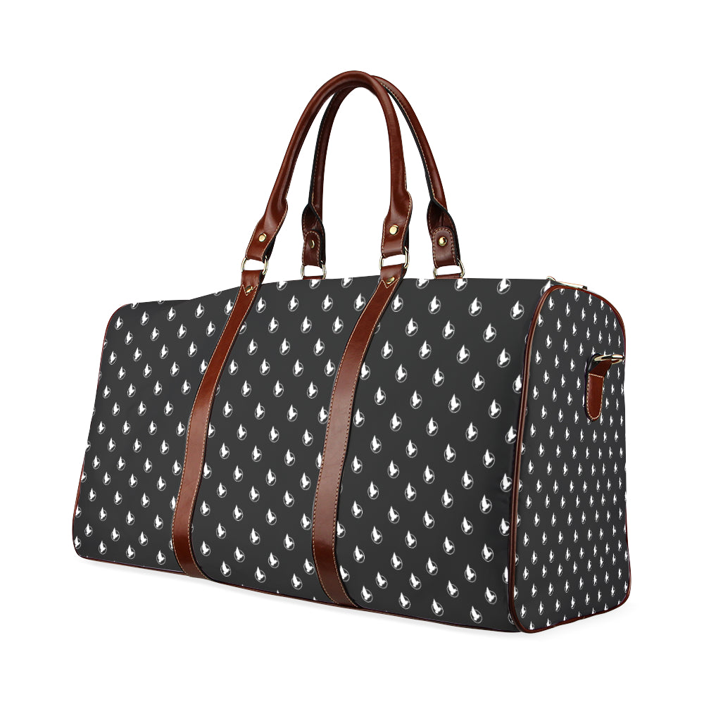 Dove Print Lux Duffle