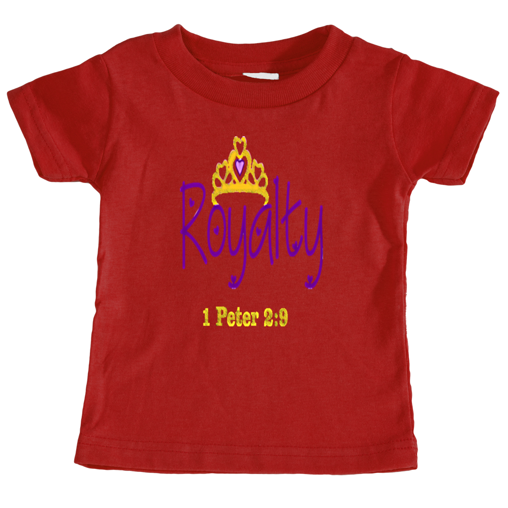 Girl's Toddler Royalty Tee