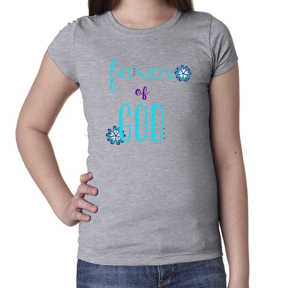 Girl's Favor of God tee