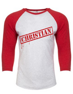 Christian stamp raglan