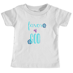 Girls, Toddler Favor of God tee