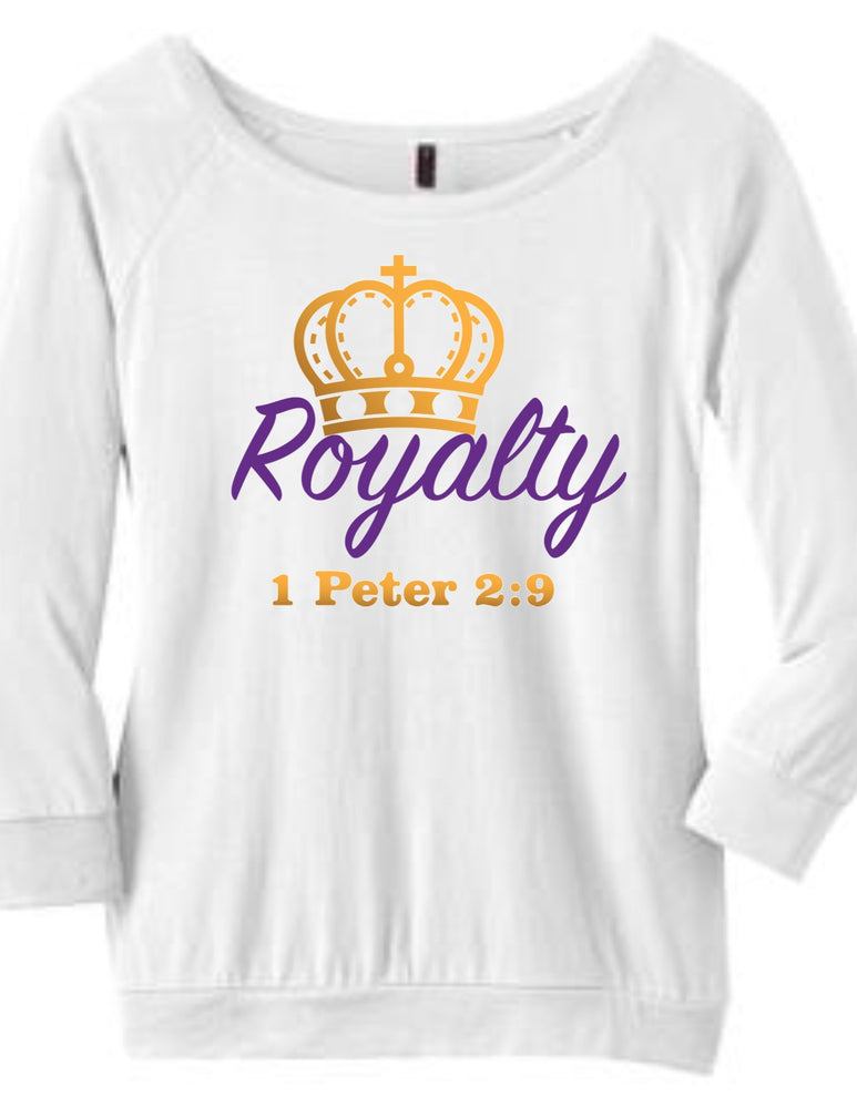 Royalty Raglan