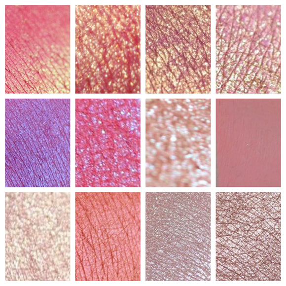 PINKS - eyeshadow SAMPLES