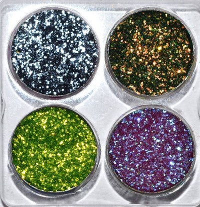CUSTOM Pressed Glitter SAMPLE Palette - CREATE YOUR OWN