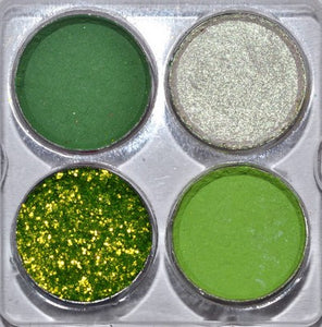 """Lucky"" pressed Eyeshadow SAMPLE Palette"