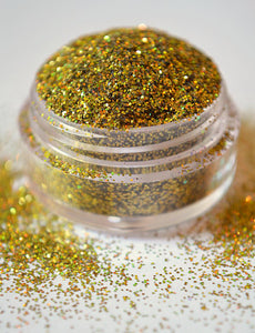 Honor - Cosmetic Glitter -  holographic gold DISCONTINUED