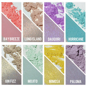 """HAPPY HOUR"" Eyeshadow Collection SAMPLE SET"