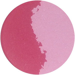 FLAMANCO / SKITTISH (split pan) - Pressed Eyeshadow - matte dark and pastel pink
