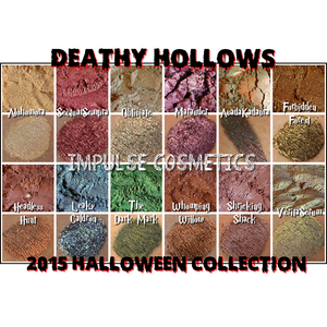 """Deathly Hollows"" Eyeshadow Collection (Halloween, 2015) FULLSIZE"