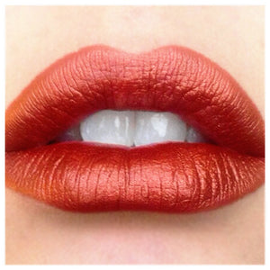 Texas Tea  - Metaluxe  metallic lipstick - copper orange