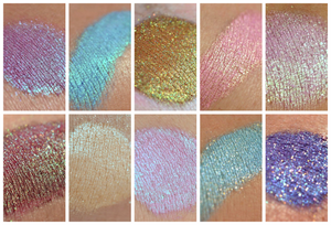 """ONCE UPON A TIME"" Eyeshadow Collection - SAMPLES"