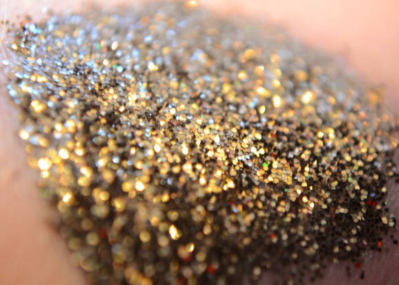 Raven - Cosmetic Glitter - black and gold