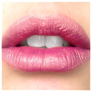 Infatuation - Metaluxe  metallic Lipstick - duochrome pink gold