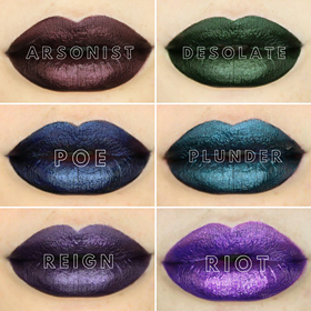 Jewel Tone Duochrome Matte Lip Lacquer COLLECTION