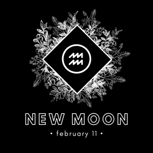 NEW MOON IN AQUARIUS - FEB 11, 2021
