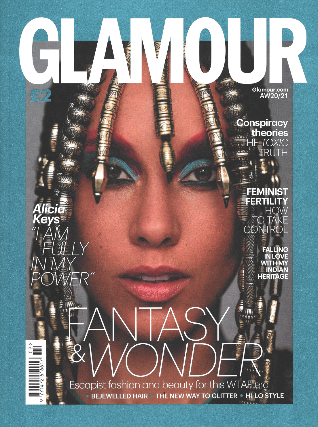 Glamour UK Cover AW2020