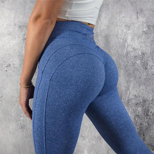 JOJORUBY Fashion Sport Yoga Plain Yoga Pants