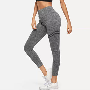 JOJORUBY Fashion Slim Solid Color Yoga Sport Pants