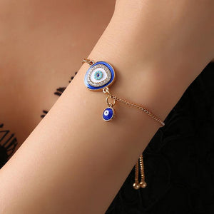 JOJORUBY Fashion Ethnic Style Devil's Eye Bracelet