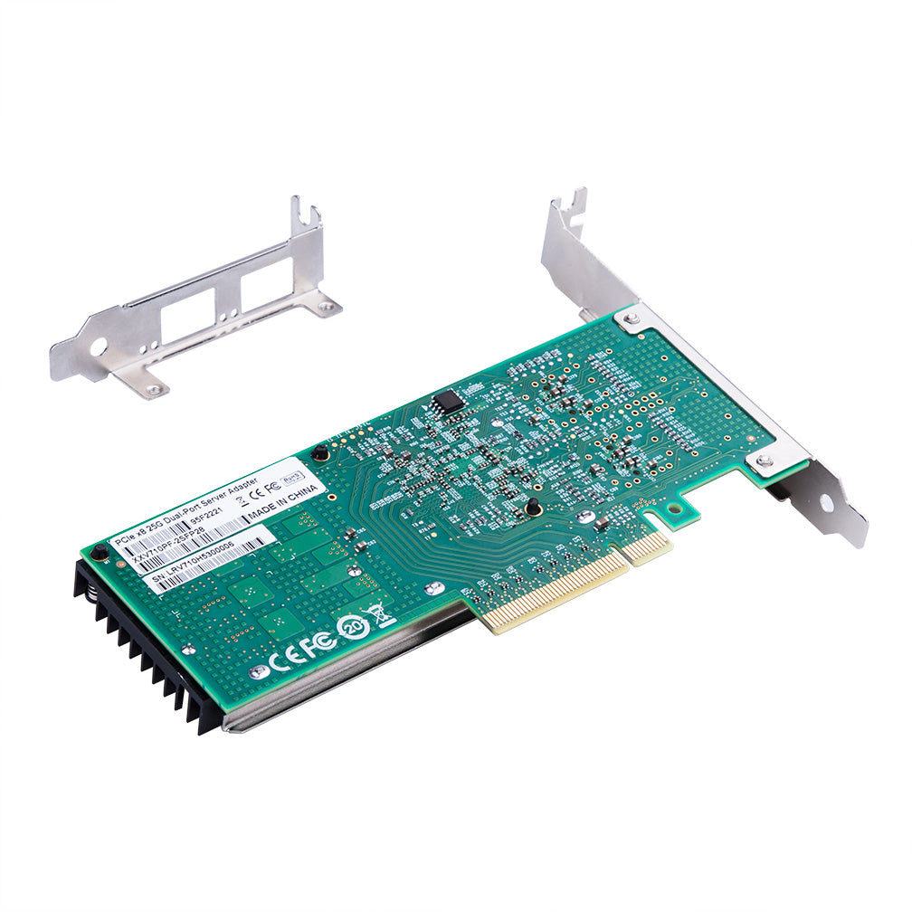 25Gbps Ethernet Converged Network Adapter, Compatible with Intel XXV710-DA2