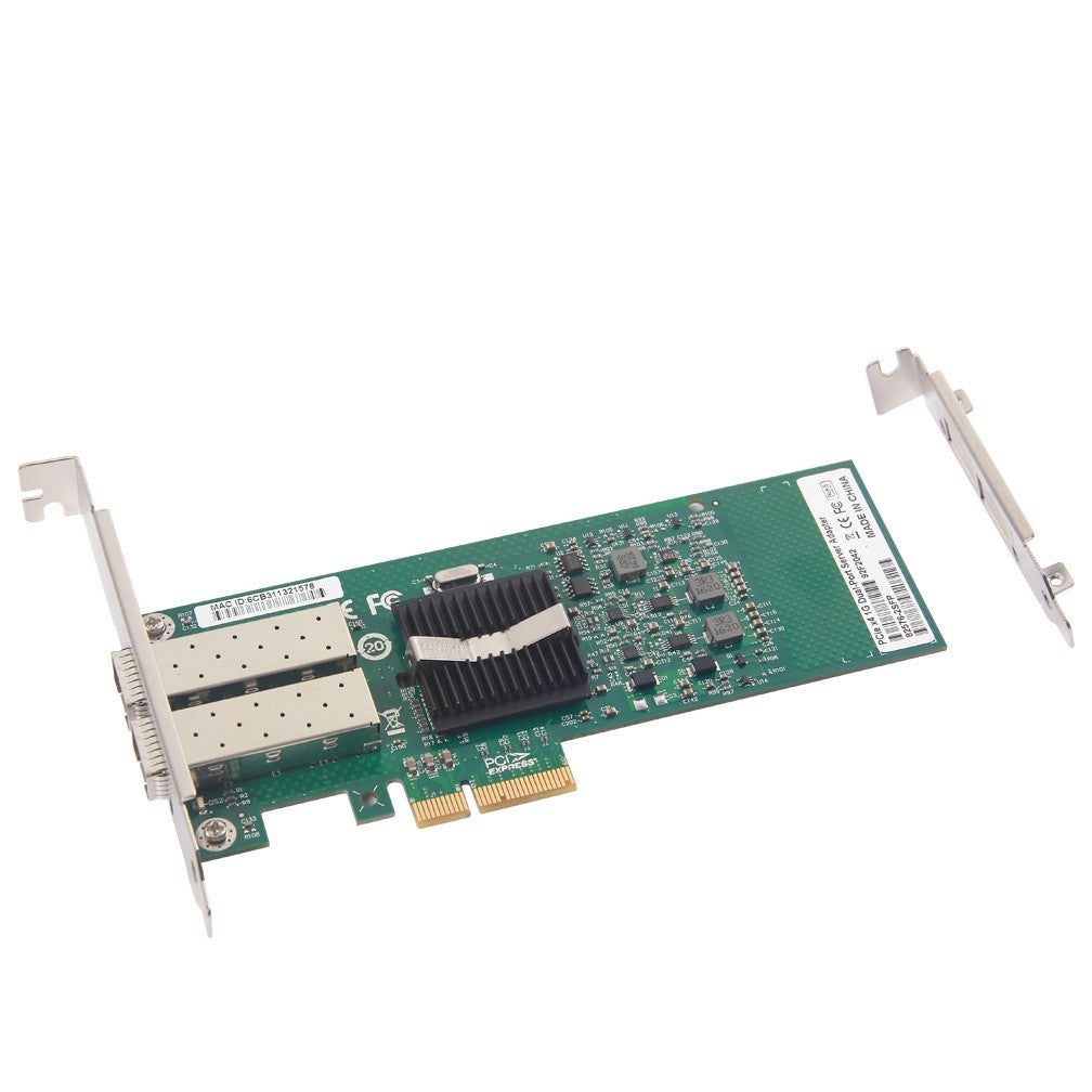 1.25Gbps Ethernet Converged Network Adapter, Compatible with Intel E1G42EF, Intel 82576 Controller