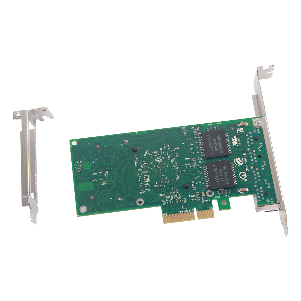 1.25Gbps Ethernet Converged Network Adapter, Compatible with Intel I340-T4, 82580 Controller