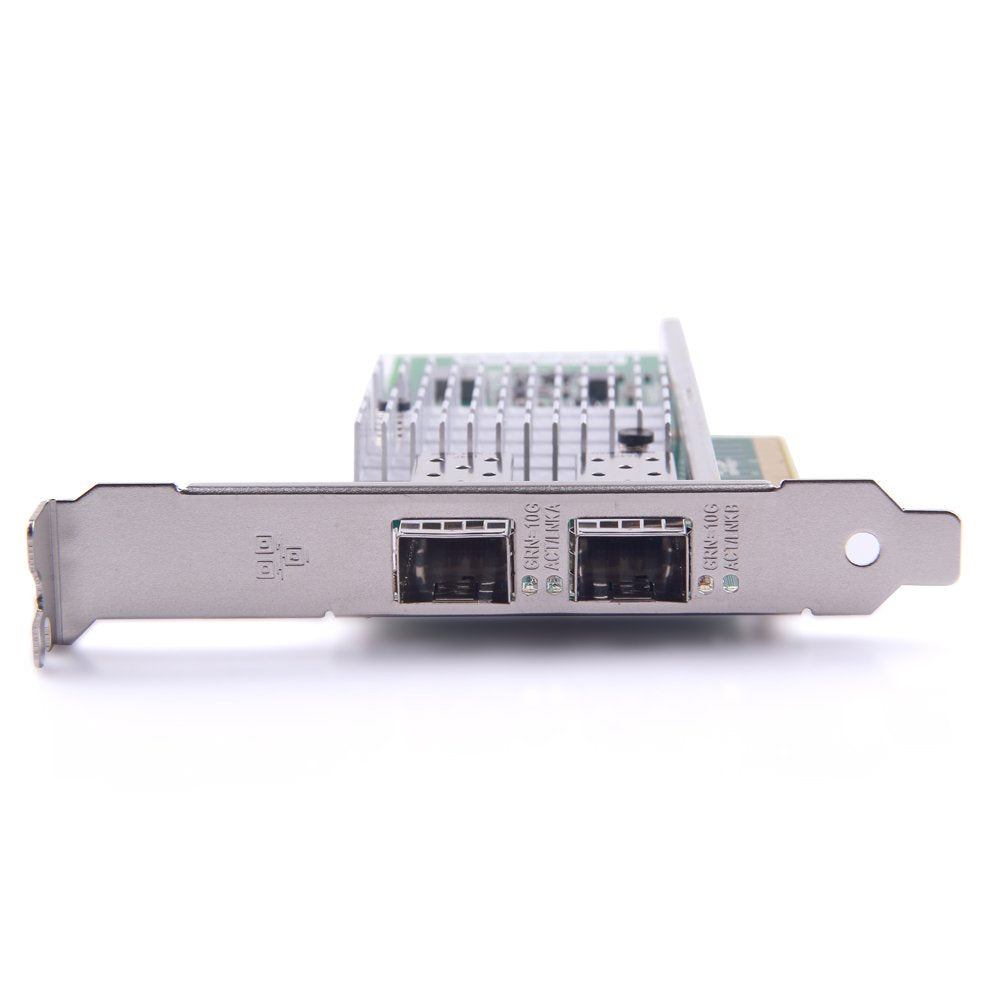 10G Gigabit Ethernet Converged Network Adapter, Compatible for Intel X520-DA2, Intel 82599 Controller