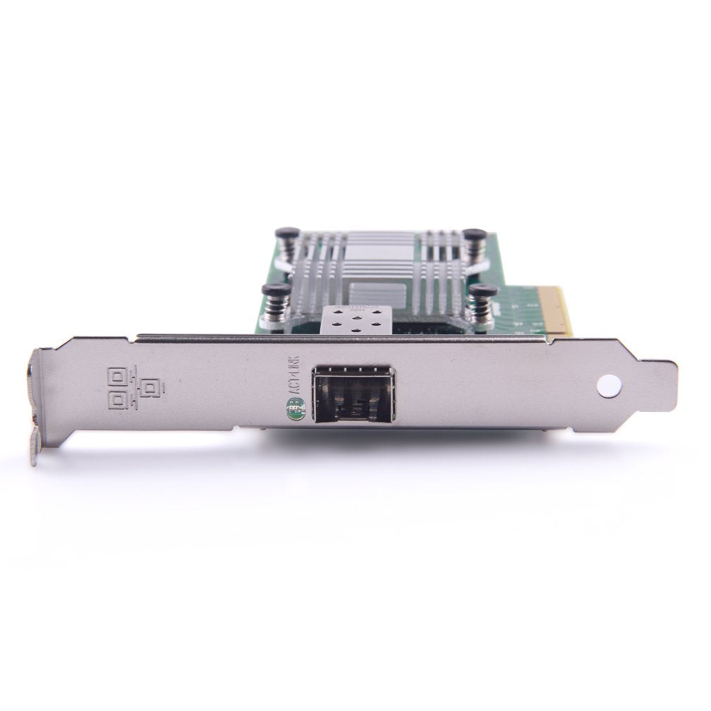 10G Gigabit Ethernet Converged Network Adapter, Compatible for Intel X520-DA1, Intel 82599 Controller