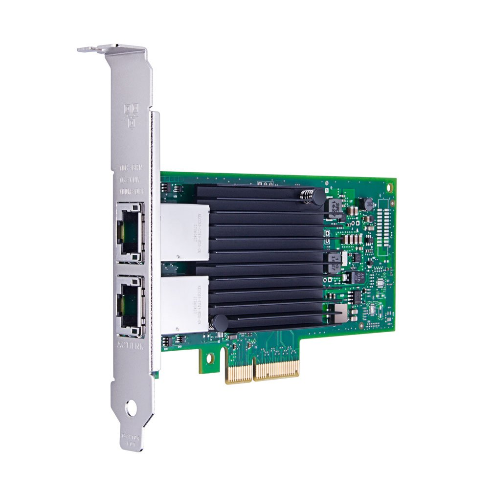 10G Gigabit Ethernet Converged Network Adapter, Compatible with Intel X550-T2, Intel X550 Controller