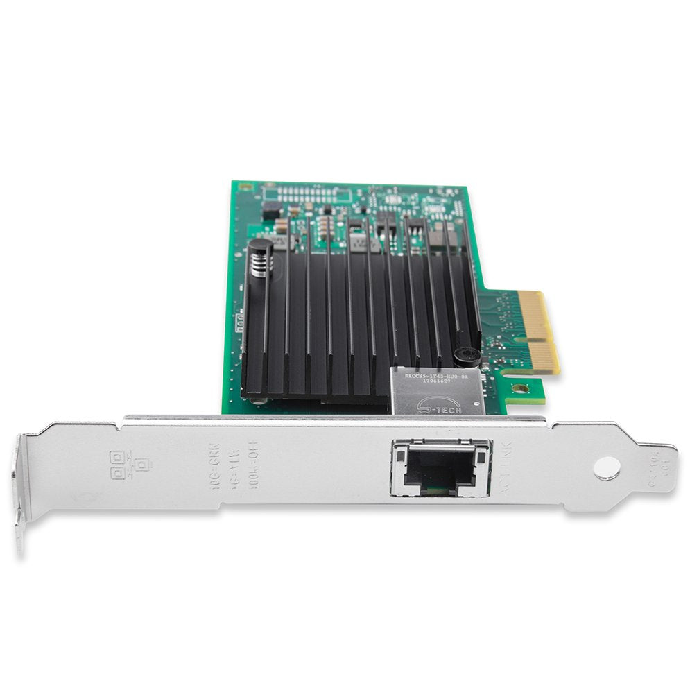 10G Gigabit Ethernet Converged Network Adapter, Compatible with Intel X550-T1, Intel X550 Controller
