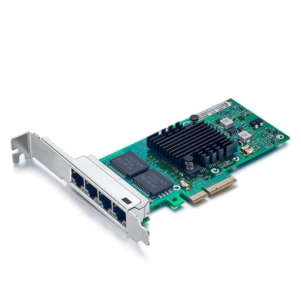 1.25Gbps Ethernet Converged Network Adapter, Compatible with Intel I350-T4