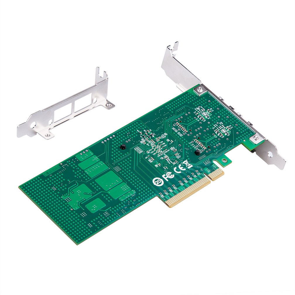 10G Gigabit Ethernet Converged Network Adapter, Compatible with Intel 2724-2S
