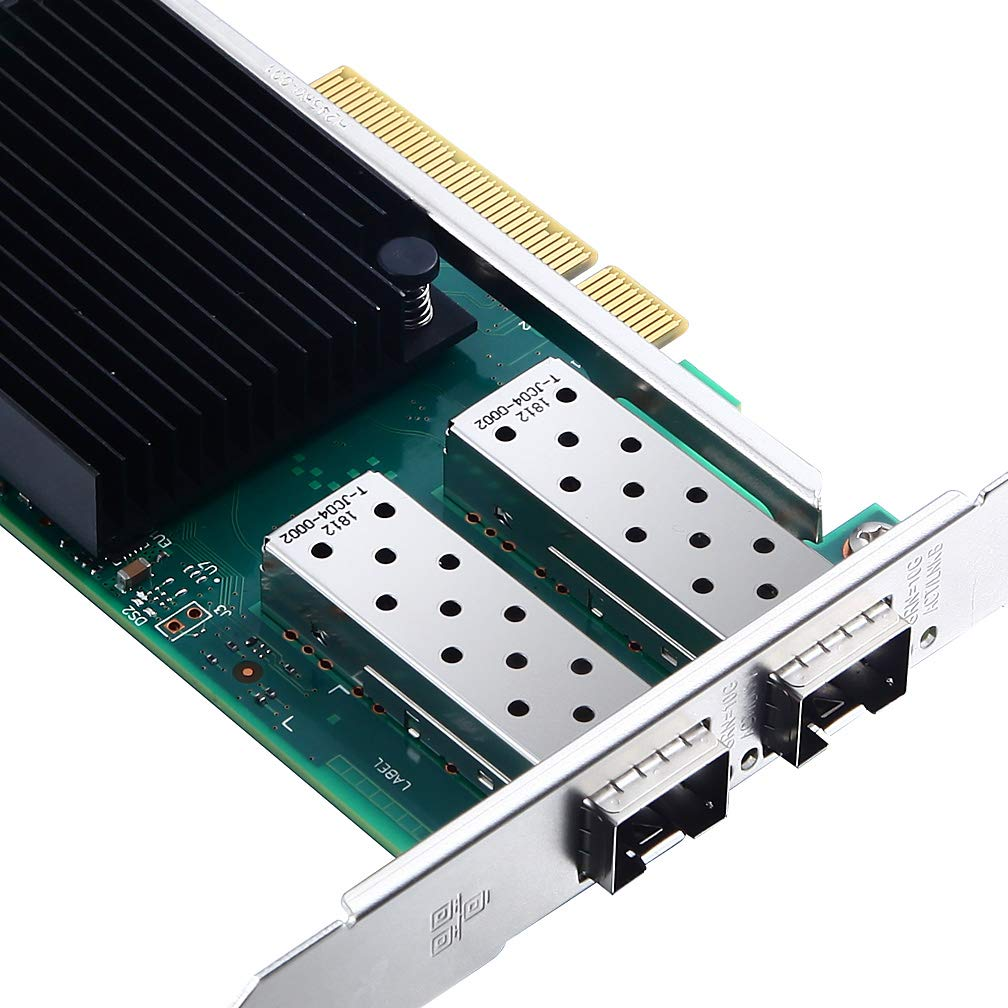 10G Gigabit Ethernet Converged Network Adapter, Compatible with Intel X710-DA2
