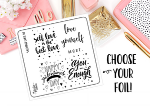 FOILED - Valentines Quote Box 2