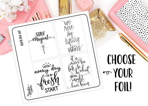 FOILED - Quote Box #11 Overlay - thestickiecommittee