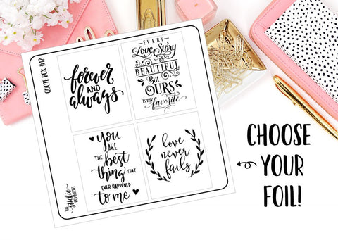 FOILED - Quote Box #12 Overlay - thestickiecommittee